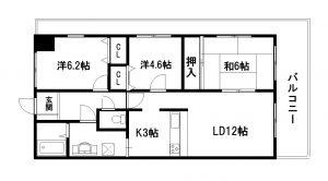 グランドムール北野田405号
